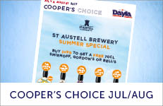 JULY AUG COOPERS ALES