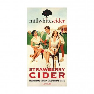 Millwhites Strawberry Cider