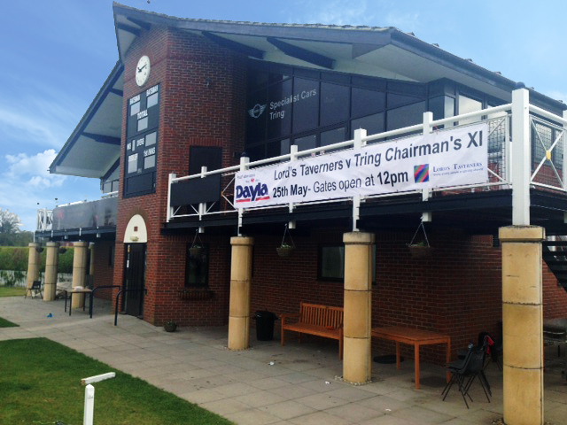 Lord's Taverners v  Tring Park Chairman's XI Banner